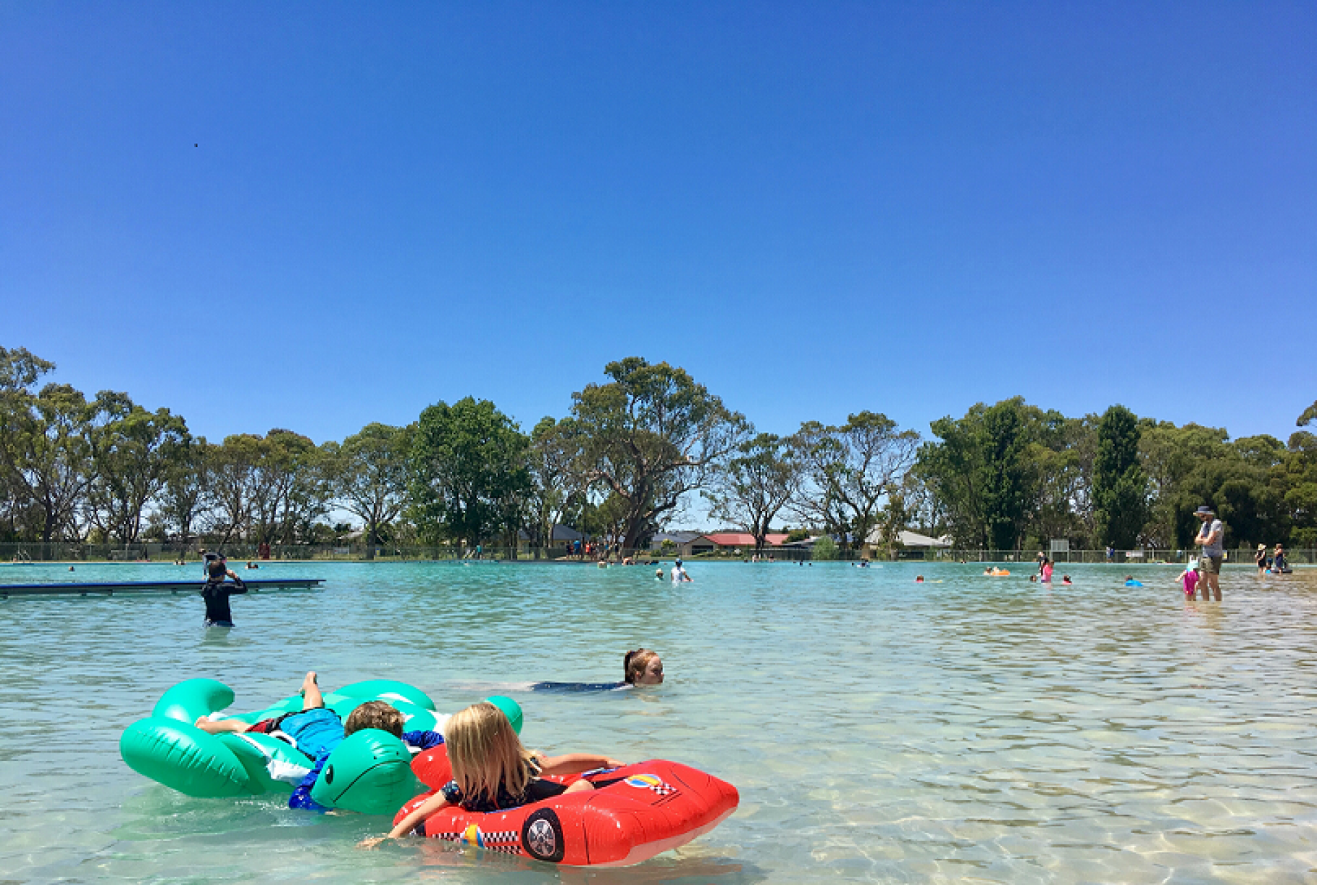 Naracoorte swimming lake 2018