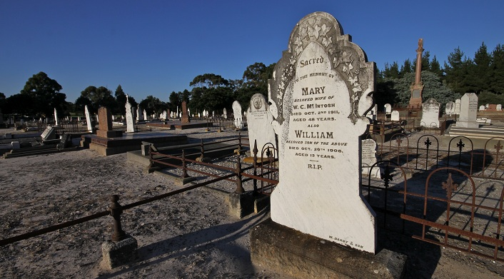 Naracoorte Cemetery Old